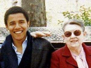 Obama leaves campaign trail to visit sick grandmother